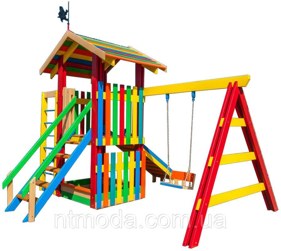 Детский игровой комплекс. ДП-002-1