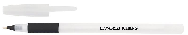 Ручка масляна Economix Iceberg, чорна