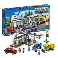 "Конструктор Lepin 02047 (аналог Lego City 60132) ""Станция техобслуживания 2 в 1"", 540 дет"