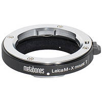 Metabones Leica M Lens to Fujifilm X-Mount Camera T Adapter (Black) (MB_LM-X-BT1), фото 1