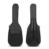 Двойные ремни мягкий электрический бас мягкий чехол сумка рюкзак для 41 баса 42