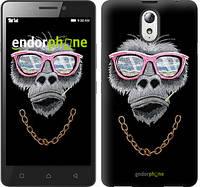 """Чехол на Lenovo Vibe P1m Крутая обезьяна """"4128c-154-519"""""""