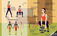 Эффективные упражнения для ягодиц и бёдер