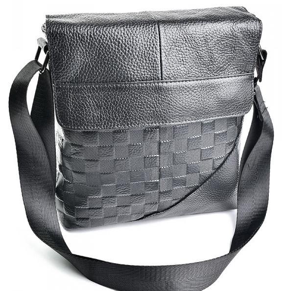 Мужская кожаная сумка 1716 Black.Купить сумки оптом и в розницу дёшево в  Украине - c7ae7ad7906