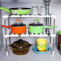 Суперпозиция полки многослойные складываемые стеллажи кухни стеллажи держатели MULTIUSE организатор