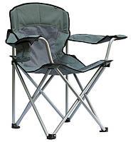 """Кресло складное для отдыха на природе  """"Берег"""" ,алюминиевый каркас 100кг  Летний вариант"""