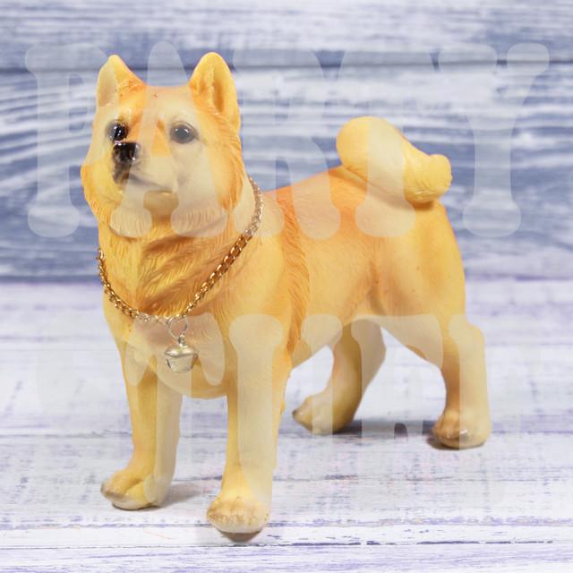 статуэтка собака лайка