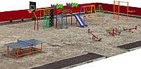 Детская спортивно-игровая площадка. ДС-001-1, фото 1