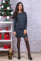 Женское теплое платье. RBOSSI P45. Размер 44-46.