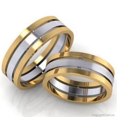Золотые обручальные кольца Магия чувств