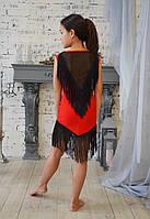 Платье красное  для тренировок и выступлений