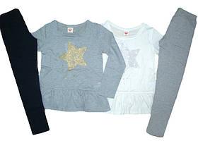 Комплект-двойка для девочки, размеры 98-128, Glostory, арт.GLT 5007