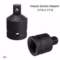 Воздействие гнездо с храповым конвертер адаптер 3/4 дюйма др храповик или бар до 1/2 дюйма дг адаптер