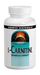 L-Карнитин Фумарат, Source Naturals, 60 капсул