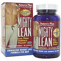 Формула Похудения для Мужчин, Mighty Lean, Natures Plus, 90 капсул