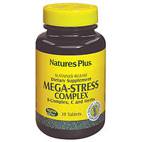 Natures Plus, Супер Сильный Комплекс от Стресса, 30 таблеток