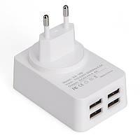 Earldom ес 5v 4.4a 4 -портовый USB- зарядное устройство адаптер с кабелем для передачи данных