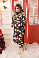 Зимней спортивный  костюм защитного принта