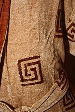Халат мужской Галакси длинный бежевого цвета, фото 3