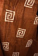 Халат мужской Галакси длинный бежевого цвета, фото 2