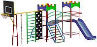 Детский игровой комплекс. МП-002-5, фото 1