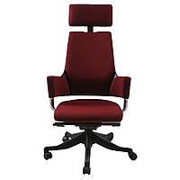 Кресло компьютерное для руководителя красное DELPHI  dark Red
