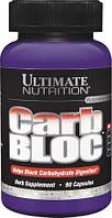Блокатор Углеводов, Carb Bloc, Ultimate Nutrition, 90 капсул
