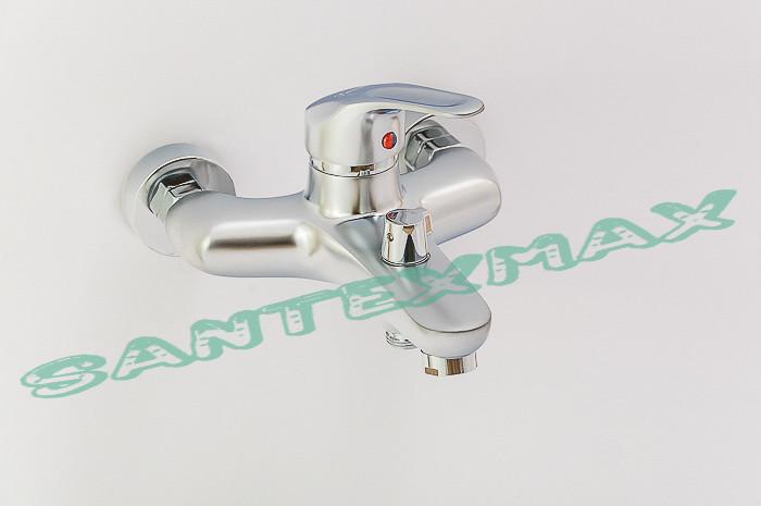 Смеситель для ванной и душа Smack 7777-Y Satin Euro