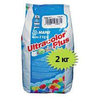 Затирка для швов Mapei Ultracolor Plus 111 серебристо-серая 2 кг