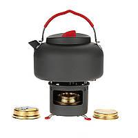 ALOCS наружной горелки кухонной плиты, установленной с водой чайник чайника опорный кронштейн кемпинг для пикника кухонной посуды