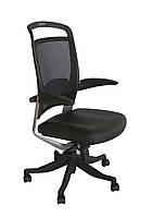 Кресло офисное для руководителя FULKRUM  Black  Mesh & Leather