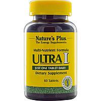 Мульти-Питательная Формула, Ultra I, Natures Plus, 60 таблеток