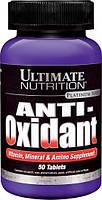 Ultimate Nutrition, Anti-Oxidant, Витамины, Минералы и Амино Добавки, 50 таблеток