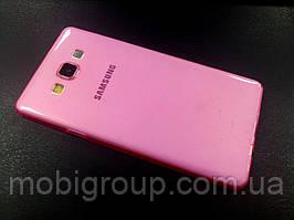Силиконовый чехол 0,3 мм Samsung A7 (2015)