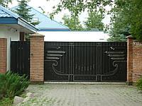 Кованные ворота Султан