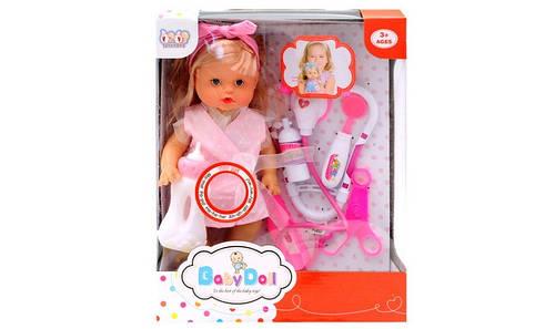 Кукла пупс Baby Doll , говорит, пьет , писает + аксессуары
