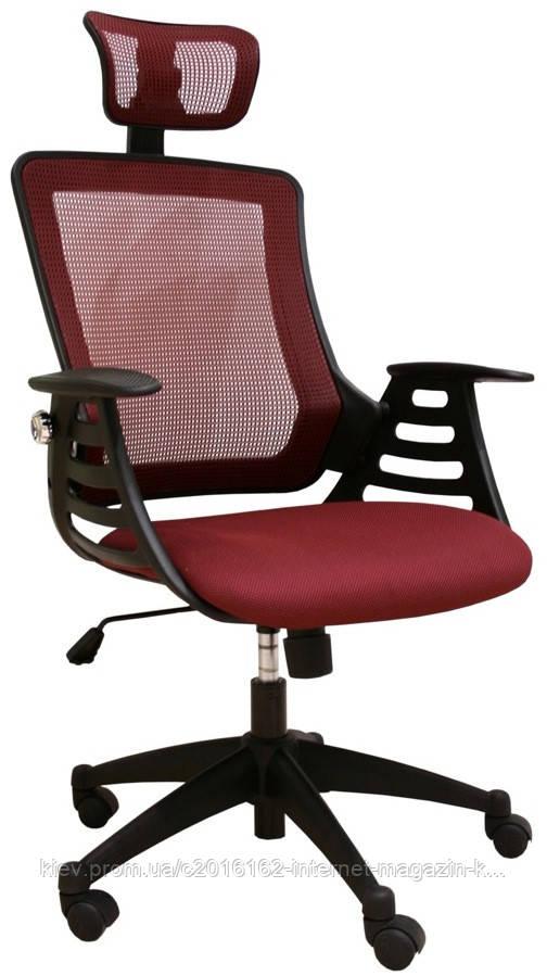 Кресло офисное для руководителя MERANO headrest  Bordeaux