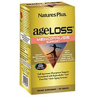 Natures Plus, AgeLoss, Комплекс для Поддержки Женского Здоровья во время Менопаузы, 90 таблеток