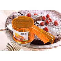 Чашка форма муки сито муки сетки просеиватель механической выпечки глазурь инструмент сахар шейкер сито