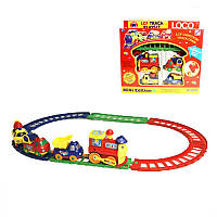 Железная дорога 19016B  детский паровозик
