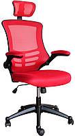 Кресло офисное для руководителя RAGUSA  red