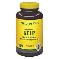 Natures Plus, Ламинария, Натуральный Йод, 300 таблеток