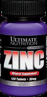 Ultimate Nutrition, Цинк 30мг, 120 таблеток