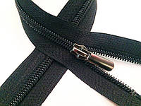 Застежки-Молнии обувные, ПРЯМОЙ-бегунок 40см (СПИРАЛЬ Тип-7) неразъемные, цвет № 580 черный