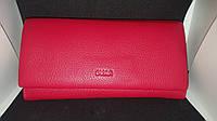 Женский кошелек из натуральной кожи фирмы LVAN (на магните)