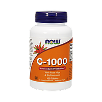 Now Foods, Витамин С-1000 с Шиповником + Биофлавоноиды, 100 таблеток