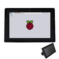Сенсорный экран 1280x800 с акриловым стендер для IPS 10.1-дюймовый емкостный LCD HDMI Raspberry бб черный Banana Pi Пи