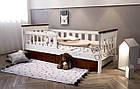Кровать подростковая от 3 лет с бортиками Infiniti, фото 4