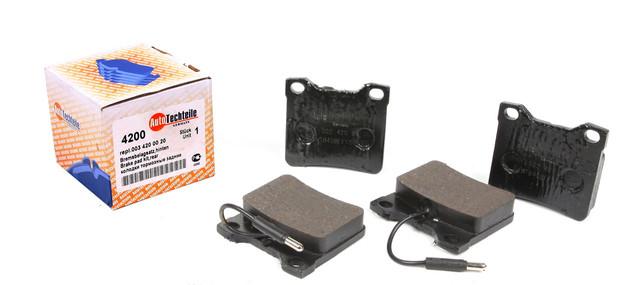 Колодки тормозные задние Autotechteile