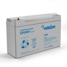 Аккумуляторная батарея MERLION AGM GP690F1 6 V 9Ah  ( 151 x 34 x 100 ) Q10